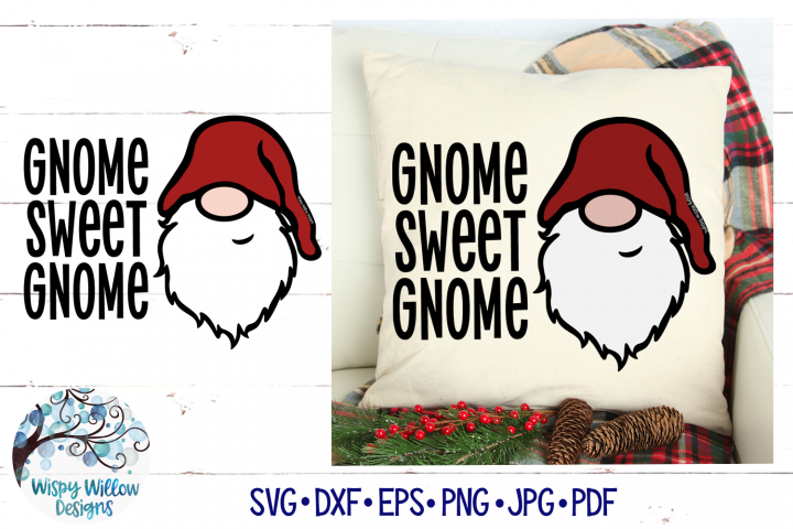 Gnome Sweet Gnome SVG | Gnome SVG File