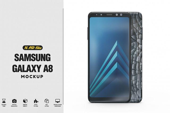 Samsung Galaxy A8 Mockup