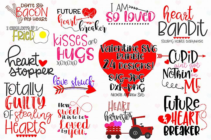 Valentine SVG Bundle for Crafters