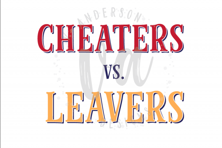 Cheaters vs. Leavers SVG