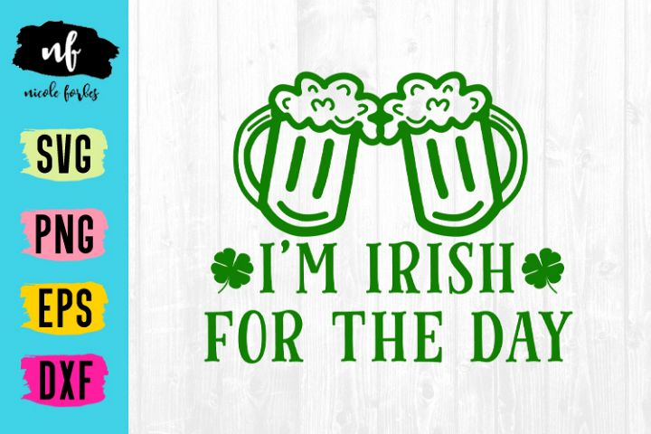 Irish For The Day SVG Cut File