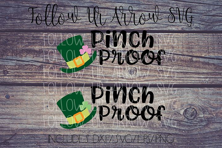 Pinch Proof Girl/Boy St. Patricks Day with Leprechaun Hat