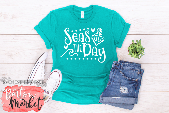 Seas The Day SVG DXF EPS PNG