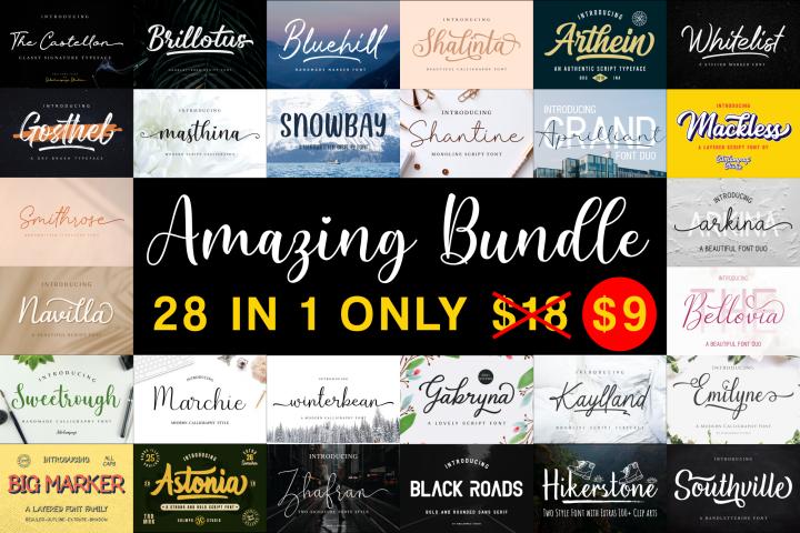Amazing Bundle - Year End Sale!!!