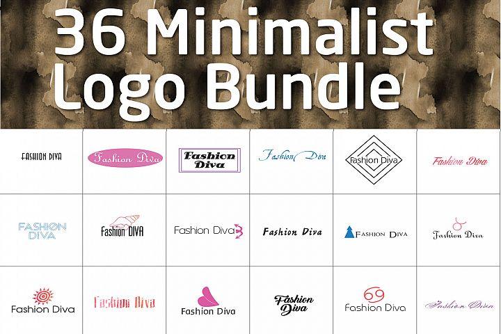 Mix Minimalist Logo Pack