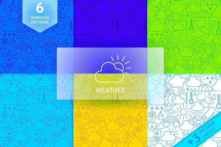 Weather Line Tile Patterns