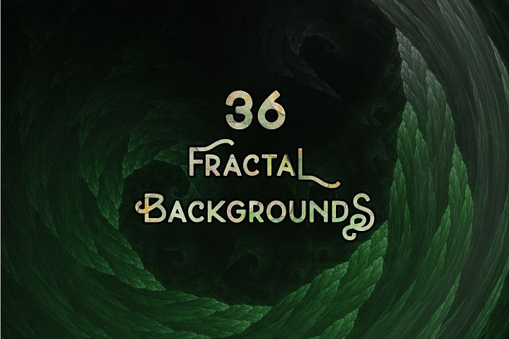 36 Abstract Fractal Backgrounds