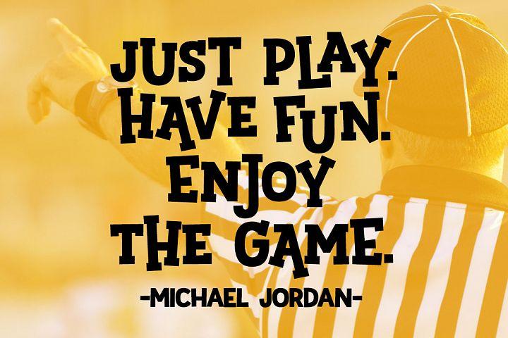 Sportsball - fun font with alternates! example image 4