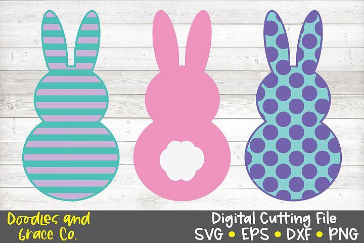 Easter Bunny SVG Bundle - SVG - EPS - DXF - PNG
