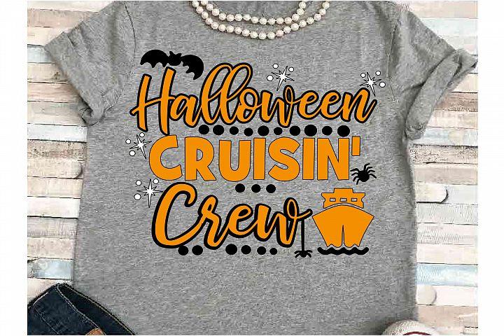 Cruise SVG DXF JPEG Silhouette Cameo Cricut Halloween crew