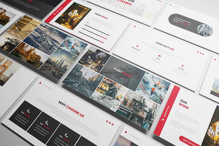 Constuction Keynote Template