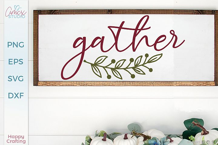 Gather - Cozy Rustic File