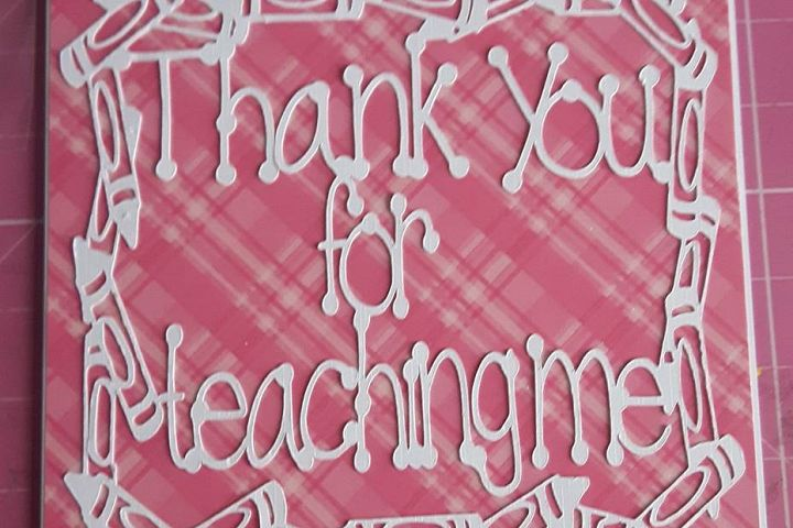 Thank you for teaching me