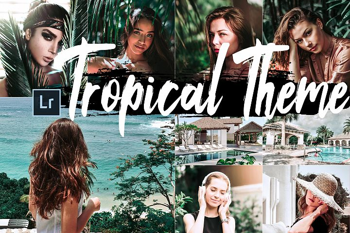 Neo Tropical Theme Desktop Lightroom Presets