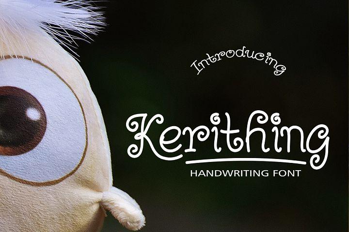 Kerithing Font
