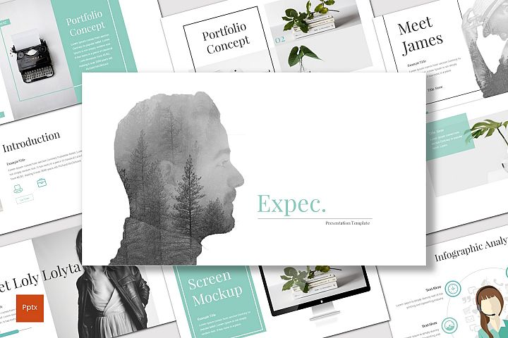 Expec - Powerpoint Template