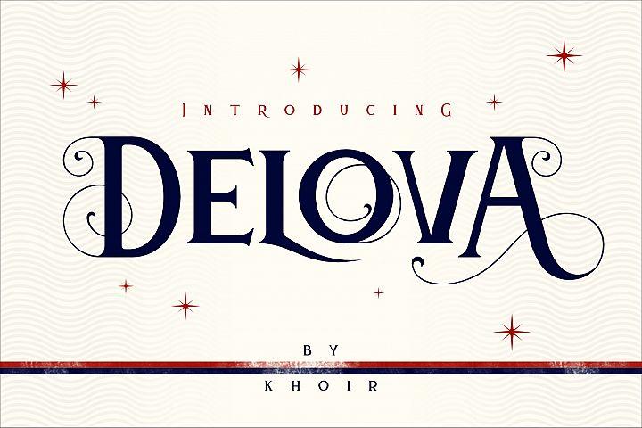 Delova - The Classic Font