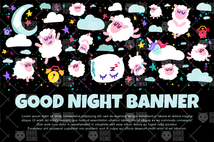 Good Night Banner
