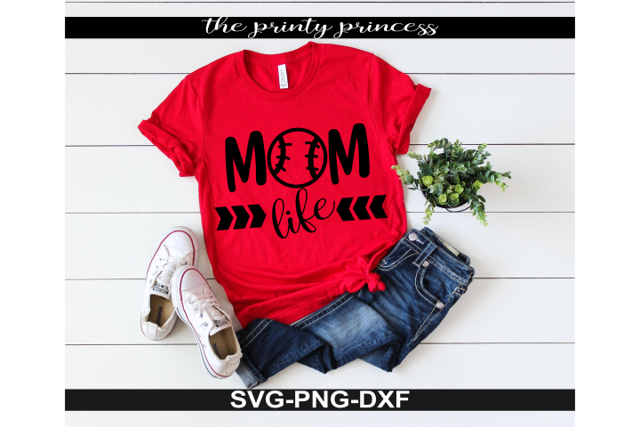 Baseball Mom Life svg, baseball svg, baseball design