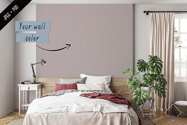 Interior mockup - frame & wall mockup creator example image 8