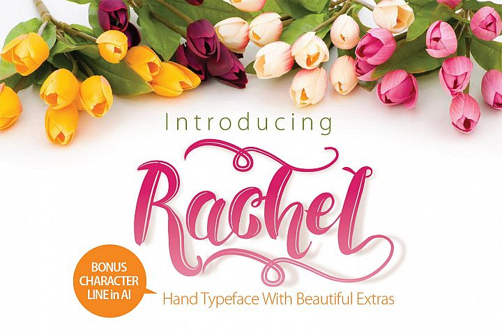RACHEL  - Free Font of The Week Font