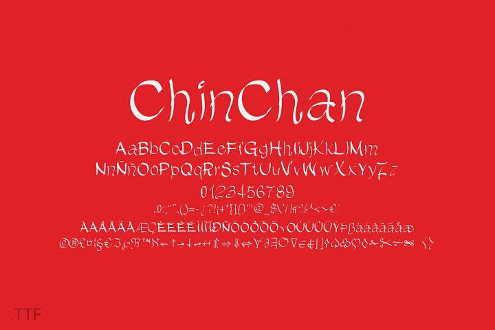 ChinChan | Font