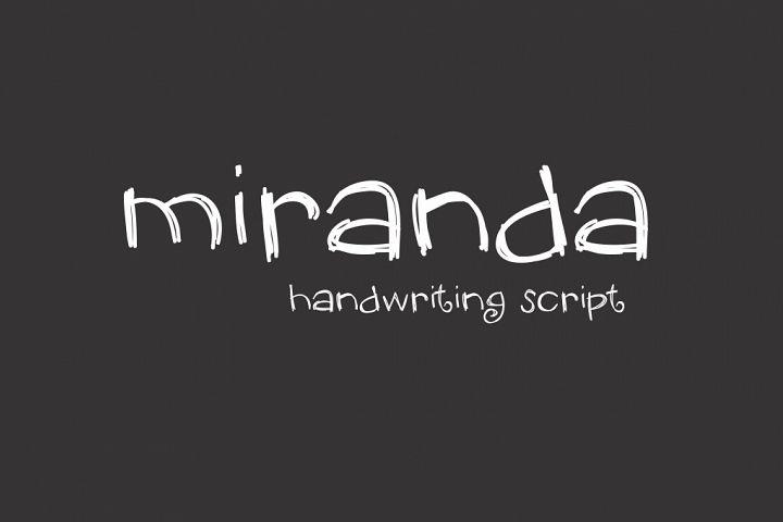 Miranda Font
