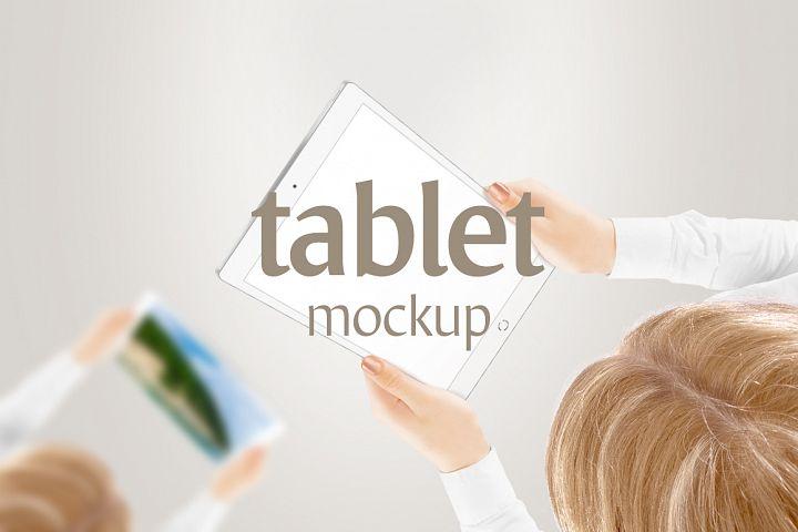 Tablet Mockup - Free Design of The Week Design 5