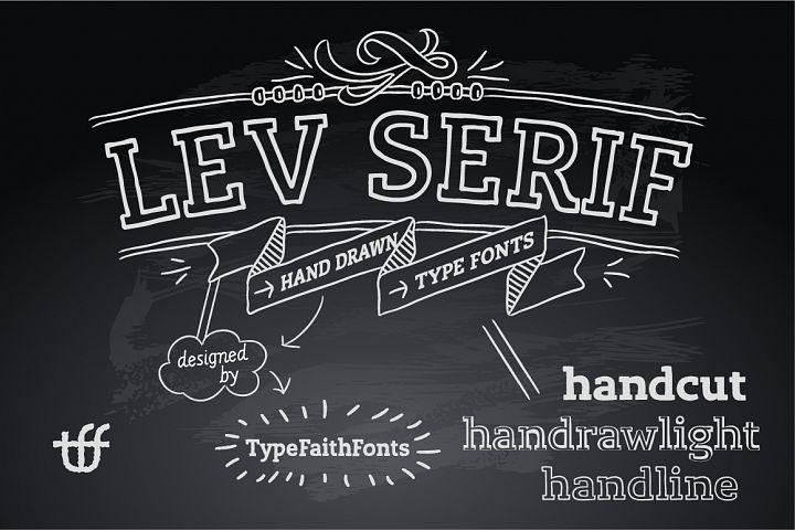Lev Serif Handdrawn