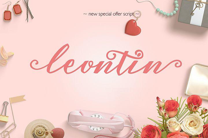 Leontin Script - Free Font of The Week Font