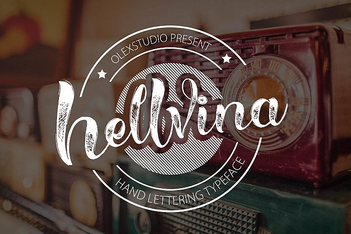 HELLVINA SCRIPT - Free Font of The Week Font