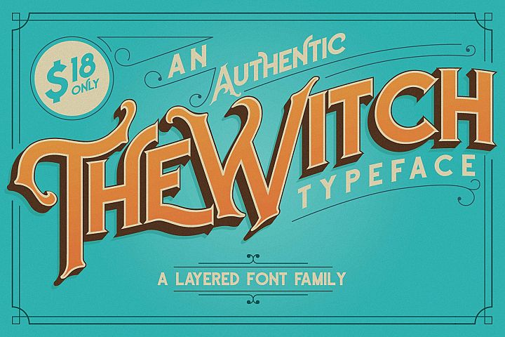 The Witch Typeface - Free Font of The Week Font