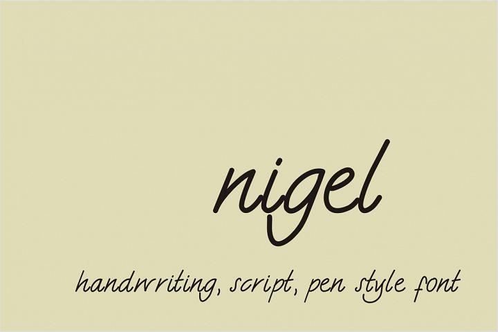 Nigel Font