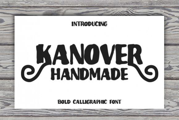 Kanover - Free Font of The Week Font