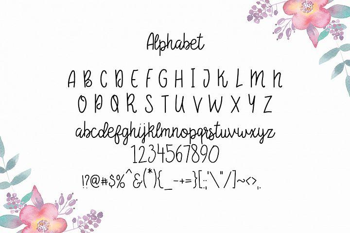 Begonia - Free Font of The Week Design 1