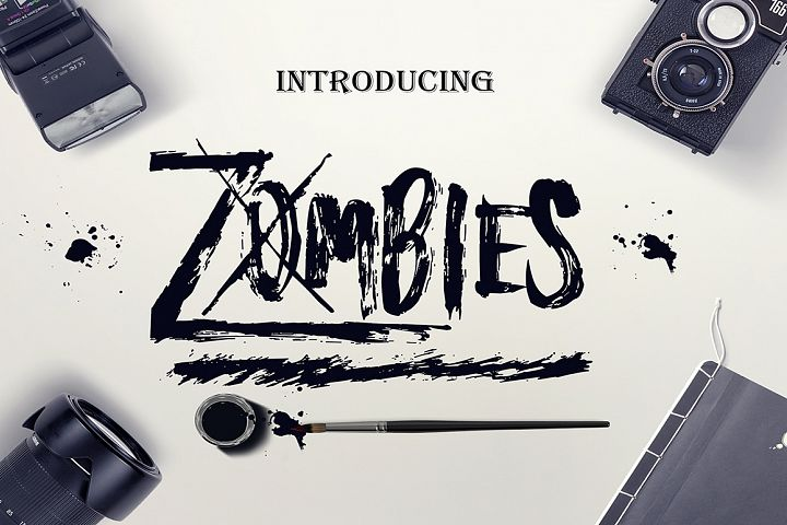 Zombies - Free Font of The Week Font