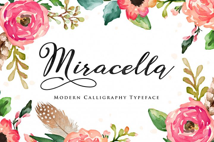 Miracella Script (Intro 30% off) - Free Font of The Week Font