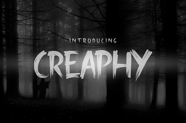 Creaphy + Bonus (Swash, Mockup & Vector Pack)