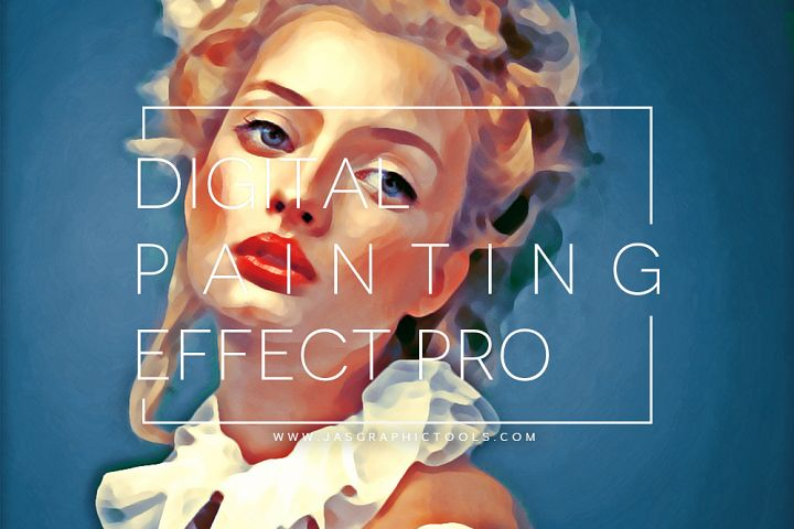 Digital Painting Effect Pro | Photoshop Actions