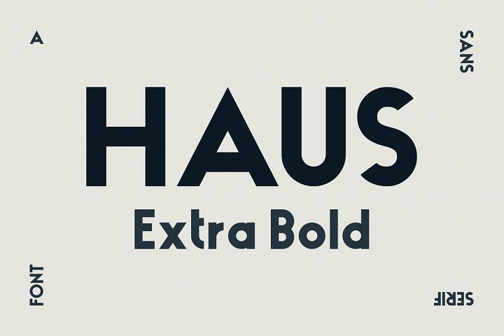 HAUS Sans Extra Bold