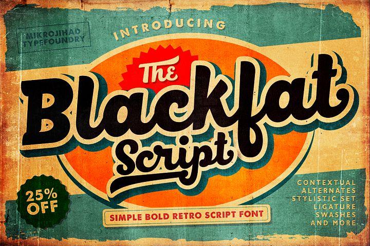 Blackfat Script - Free Font of The Week Font
