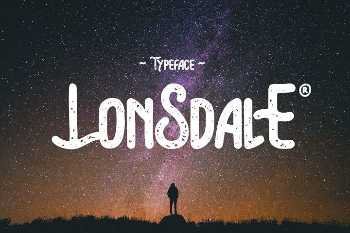 Lonsdale Typeface
