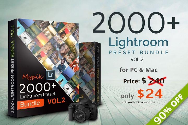 2000 Lightroom Presets Bundle