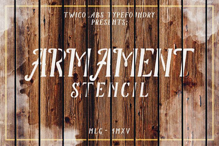 Armament Stencil