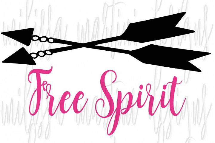 Free Spirit SVG Cut File example 6