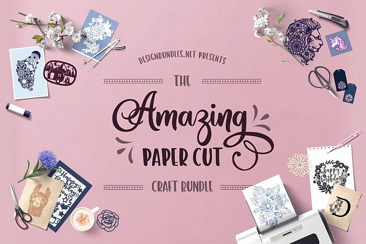 The Amazing Paper Cut Craft Bundle
