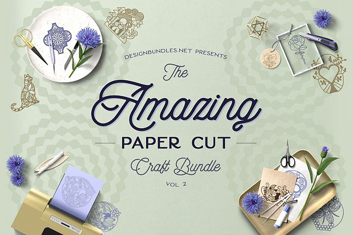The Amazing Paper Cut Craft Bundle 2 Cover