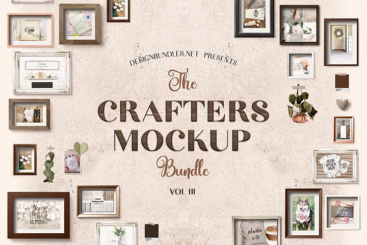 The Crafters Mock Up Bundle III
