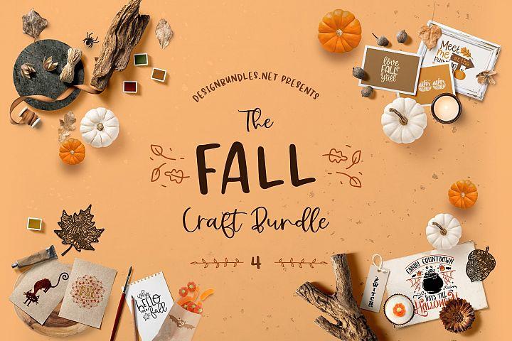 The Fall Craft Bundle 4