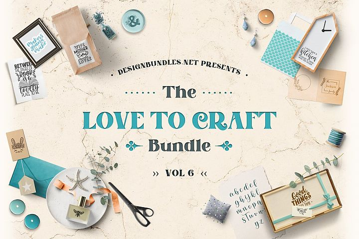 Love to Craft Bundle Volume 6 Cover